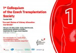 About 1st Colloquium of the Czech Transplantation Society