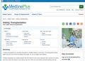 Medline Plus - Kidney Transplantatio